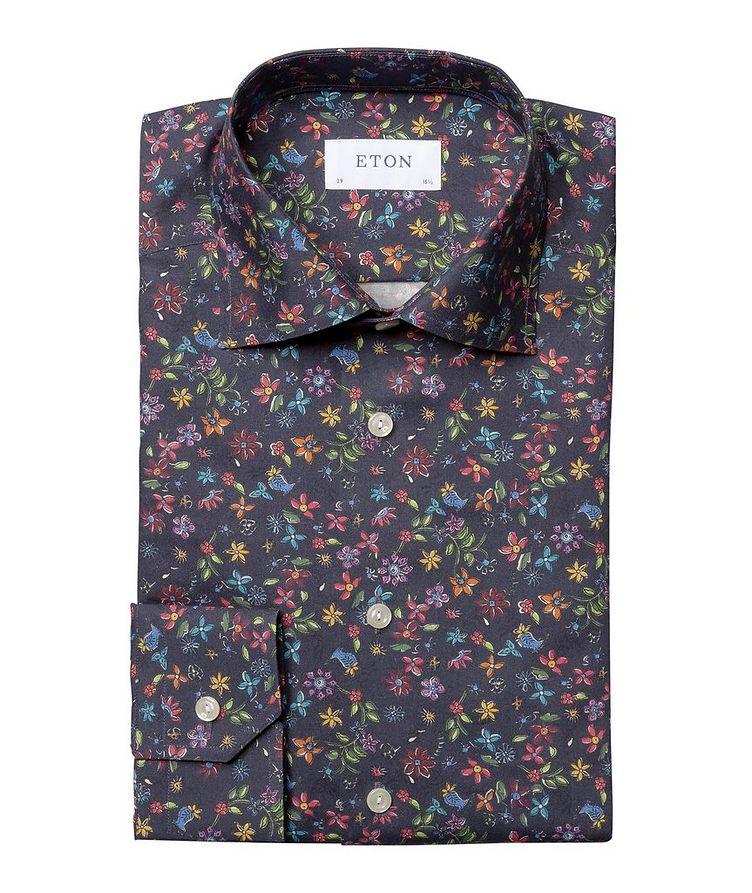 Slim Fit Botanical Dress Shirt image 0