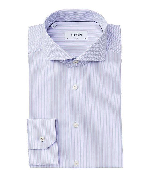 Slim Fit Striped Dress Shirt picture 1