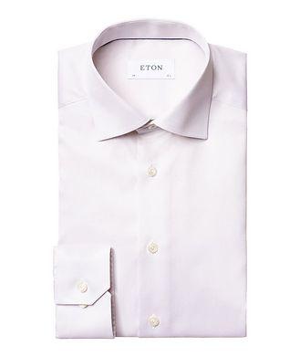 Eton Slim Fit Bird's Eye Dress Shirt