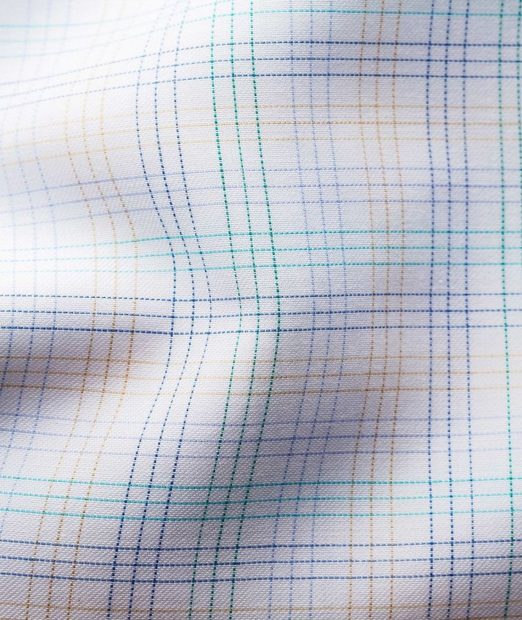 Slim Fit Checked Dress Shirt image 2