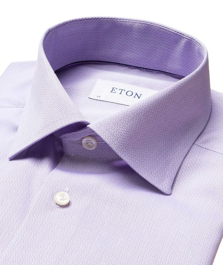 Contemporary Fit Chevron Dress Shirt image 1