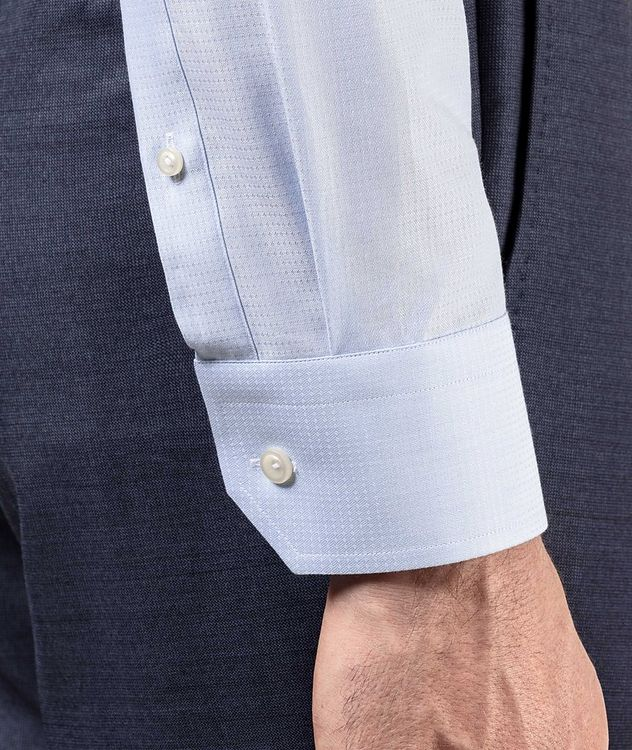 Contemporary Fit Textured Dress Shirt picture 4