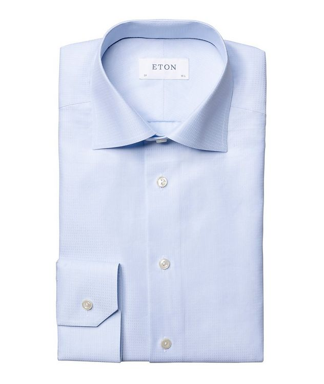 Contemporary Fit Textured Dress Shirt picture 1