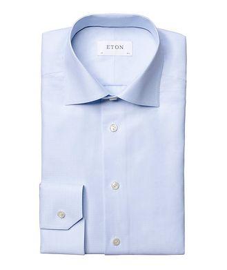 Eton Chemise habillée texturée de coupe contemporaine