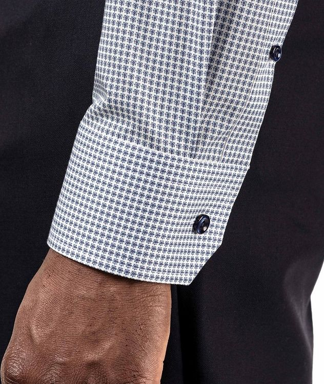 Contemporary Fit Printed Dress Shirt picture 4