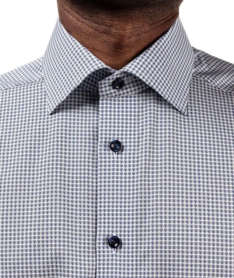 Contemporary Fit Printed Dress Shirt image 4