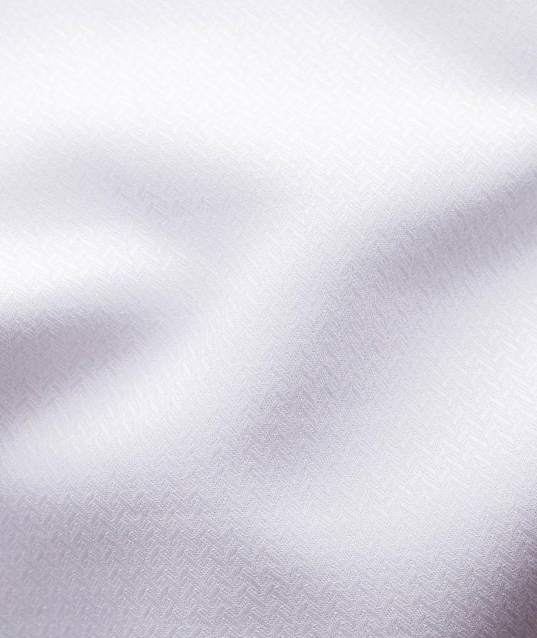 Contemporary Fit Chevron-Textured Dress Shirt image 2