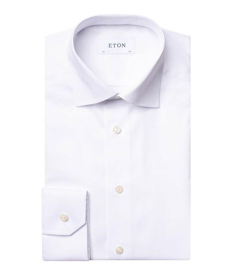 Contemporary Fit Chevron-Textured Dress Shirt image 0