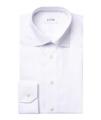 Eton Contemporary Fit Chevron-Textured Dress Shirt