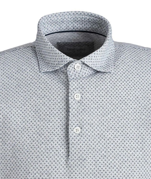 Neat-Printed Cotton Polo picture 2