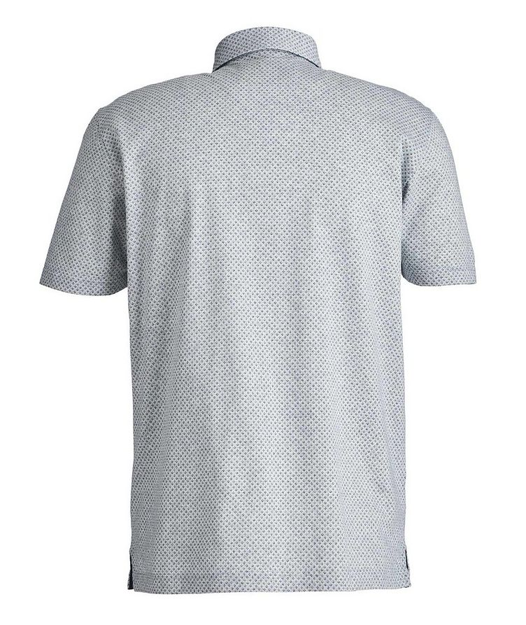 Neat-Printed Cotton Polo image 2