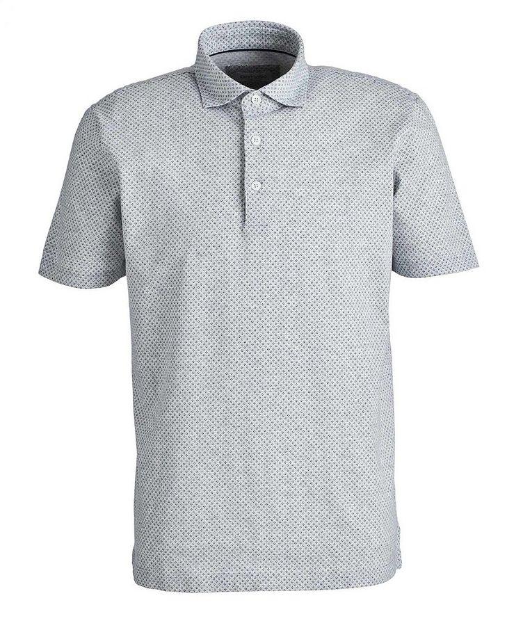 Neat-Printed Cotton Polo image 0