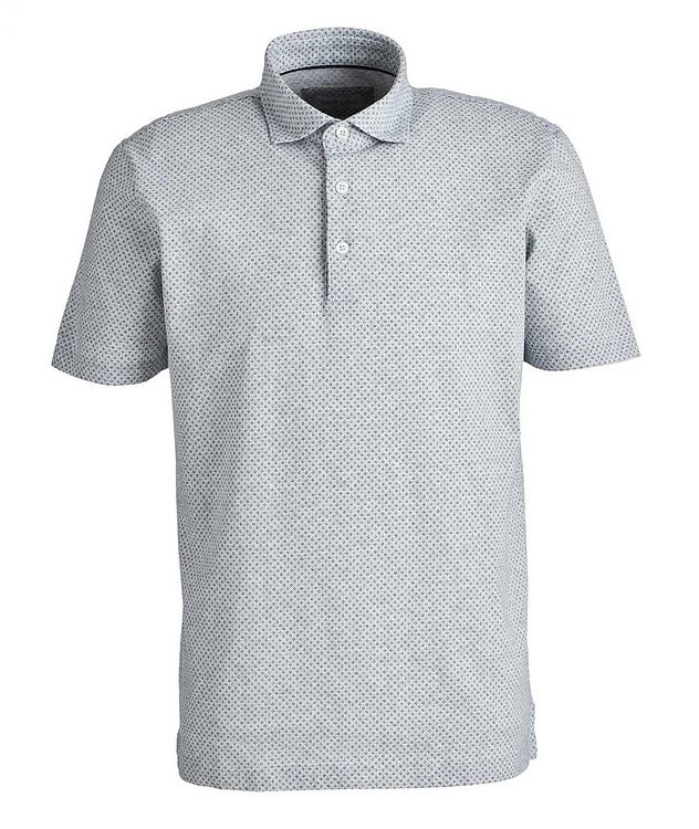 Neat-Printed Cotton Polo picture 1