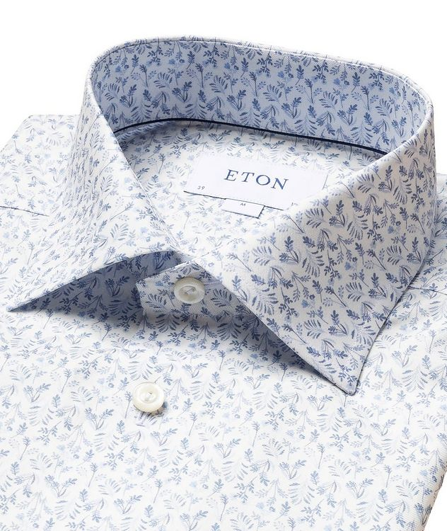 Contemporary Fit Botanical Dress Shirt picture 2