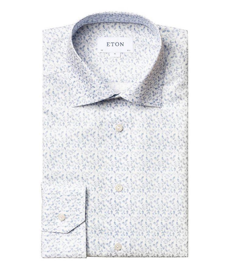 Chemise habillée à motif floral de coupe contemporaine image 0