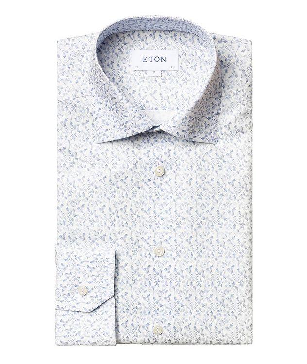 Chemise habillée à motif floral de coupe contemporaine picture 1