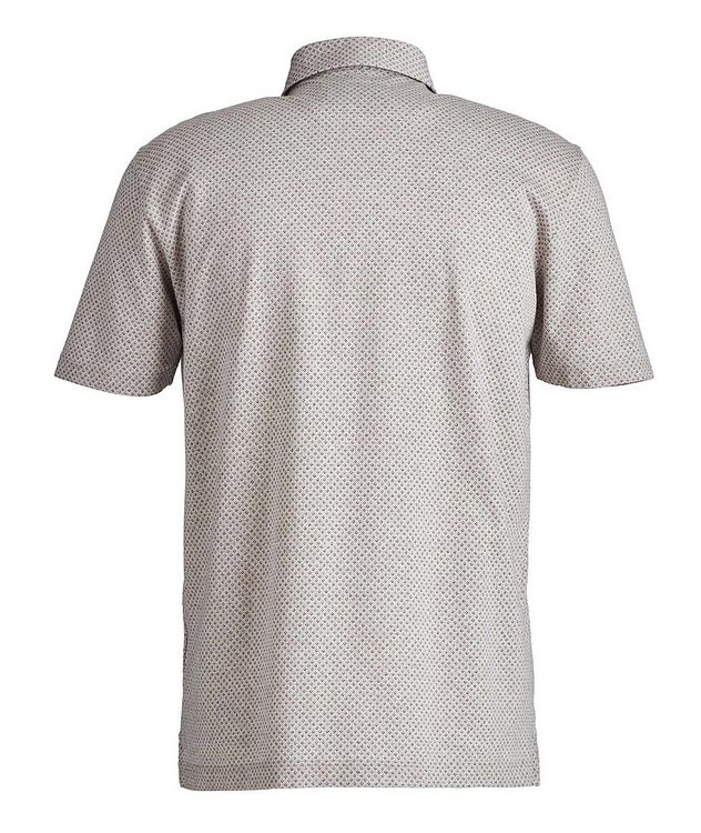 Neat-Printed Cotton Polo picture 3