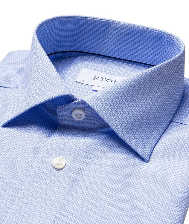 Contemporary Fit Bird's Eye Dress Shirt picture 2