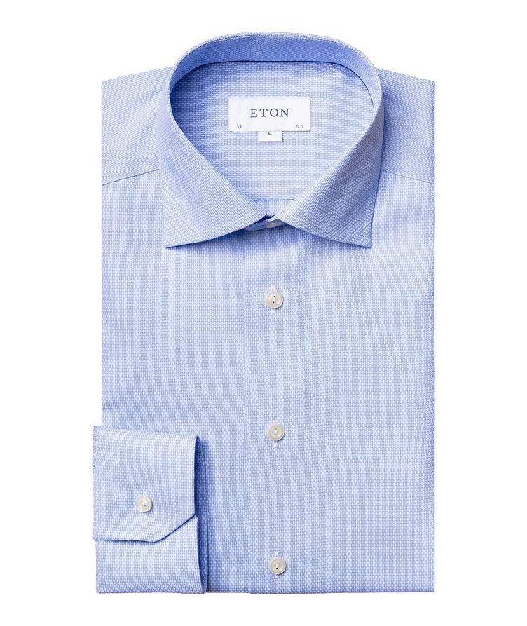 Contemporary Fit Bird's Eye Dress Shirt image 0