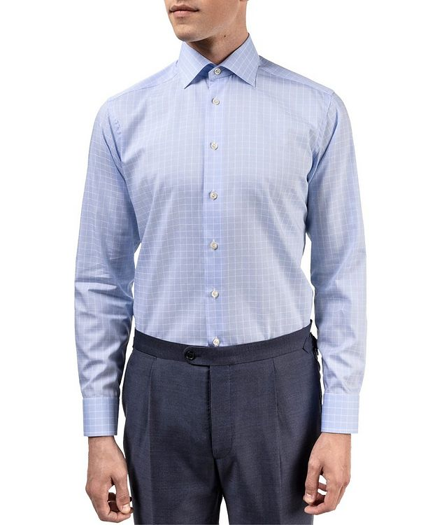 Contemporary Fit Grid-Printed Dress Shirt picture 2