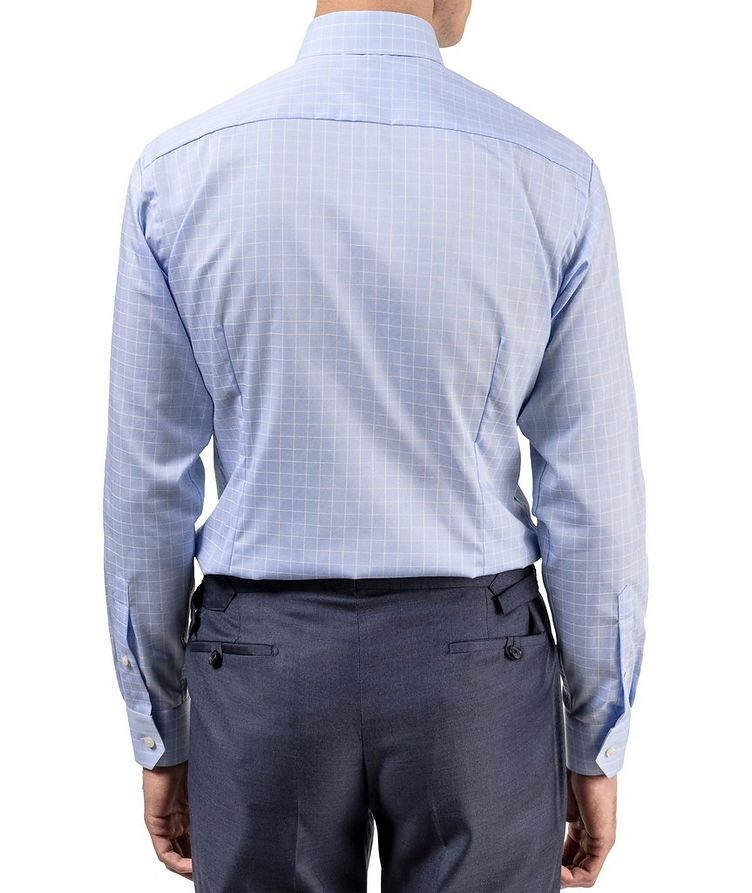 Chemise habillée quadrillée de coupe contemporaine image 2