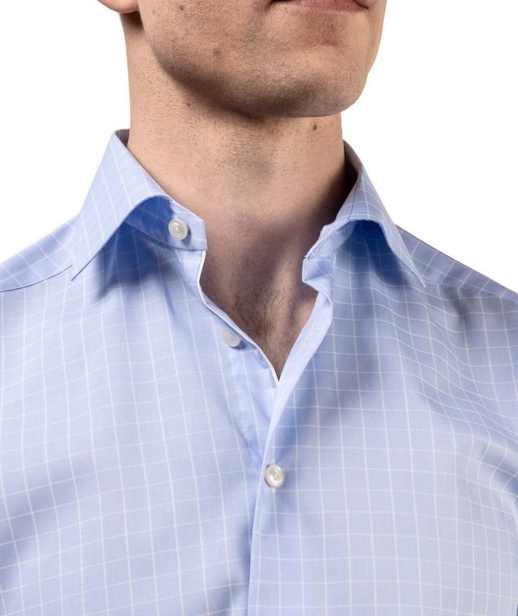 Contemporary Fit Grid-Printed Dress Shirt image 4