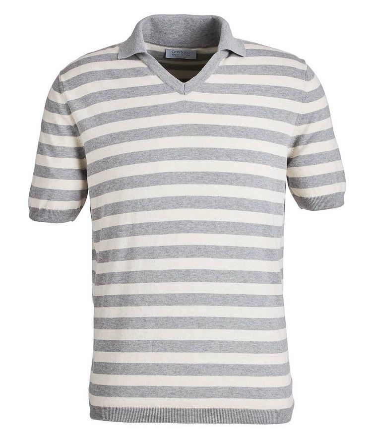 Polo en tricot de coton image 0