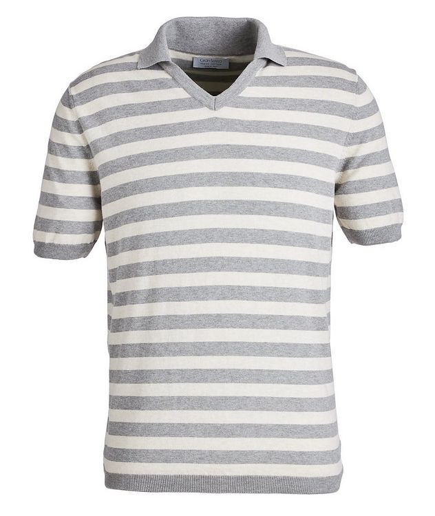 Polo en tricot de coton picture 1