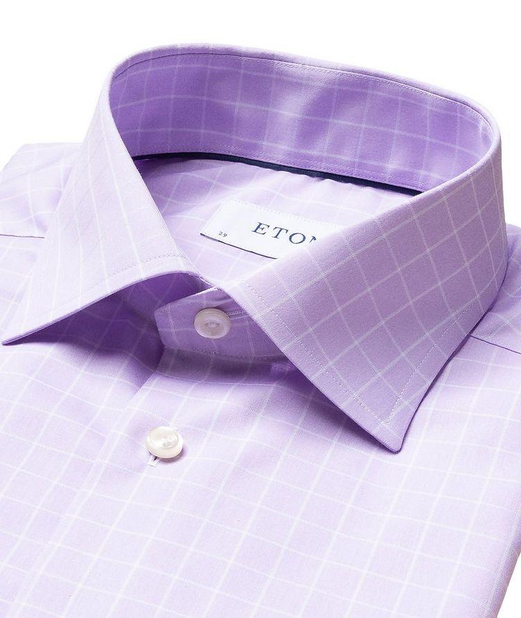 Contemporary Fit Windowpane Dress Shirt image 1