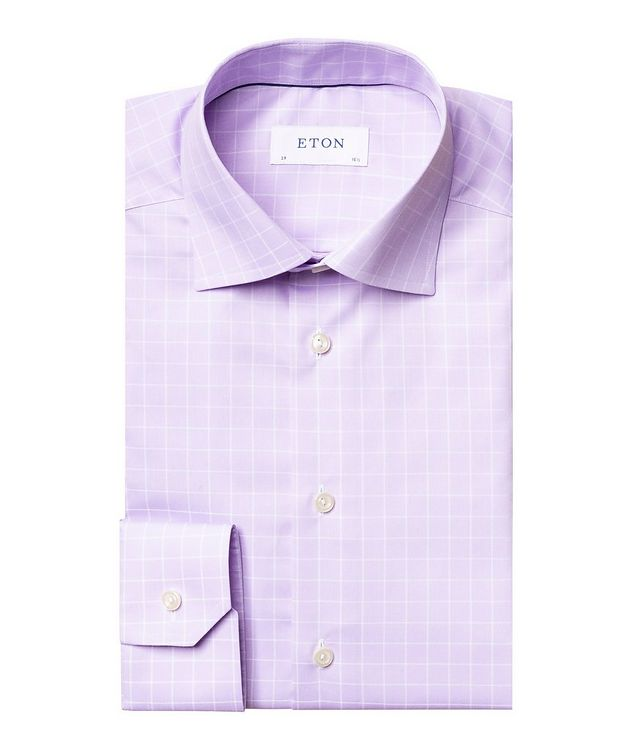 Contemporary Fit Windowpane Dress Shirt picture 1