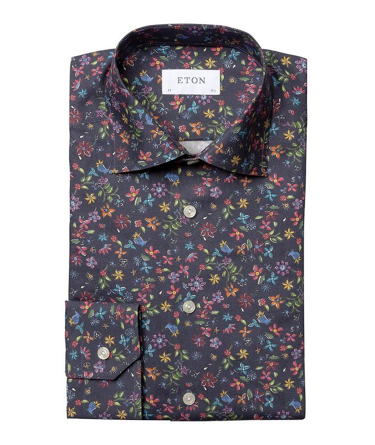 Contemporary Fit Botanical Dress Shirt image 0