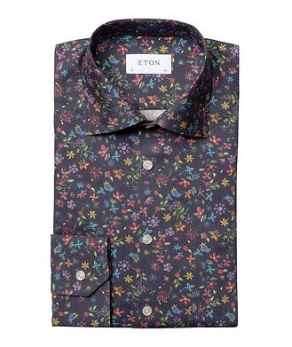 Eton Contemporary Fit Botanical Dress Shirt