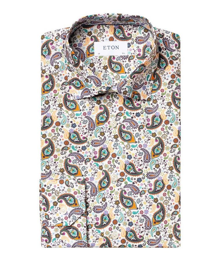 Contemporary Fit Paisley Dress Shirt image 0