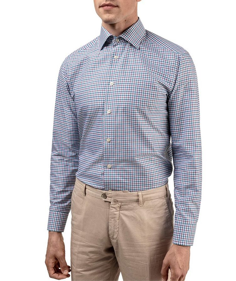 Slim Fit Gingham Dress Shirt image 1