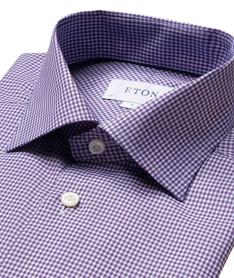 Contemporary Fit Gingham Dress Shirt image 1