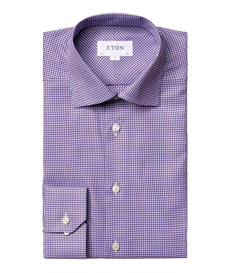 Contemporary Fit Gingham Dress Shirt image 0