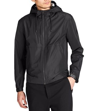 Mackage Water-Repellent Hooded Bomber Jacket