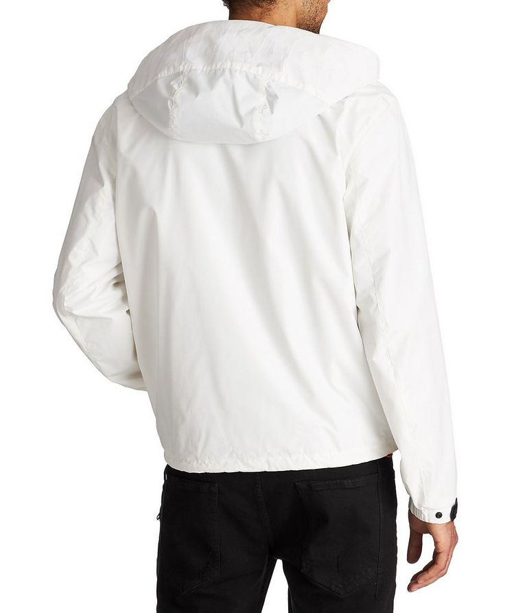 Water-Repellent Hooded Bomber Jacket image 1