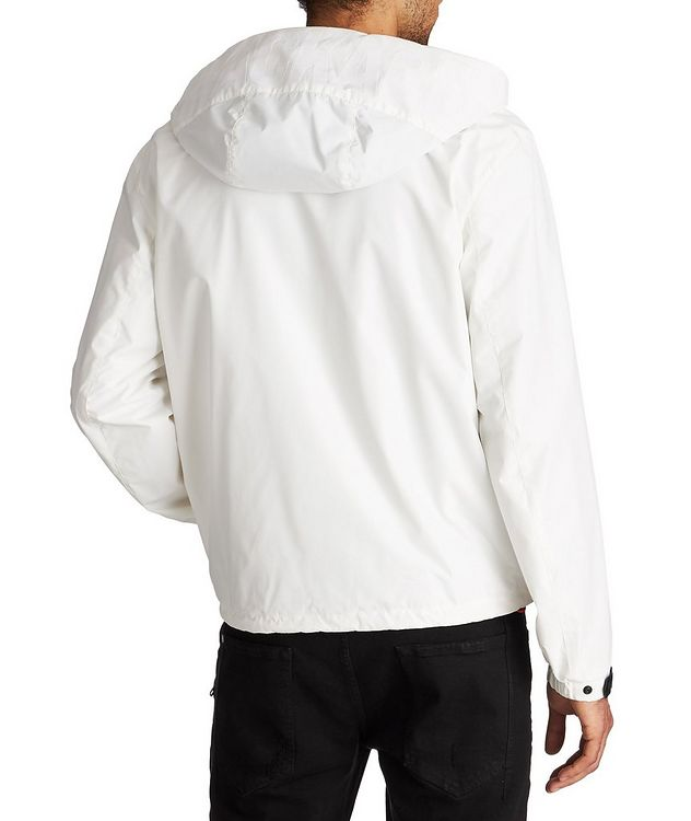Water-Repellent Hooded Bomber Jacket picture 2