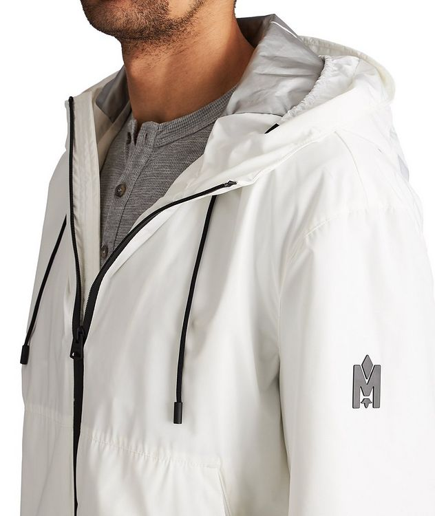 Water-Repellent Hooded Bomber Jacket picture 4