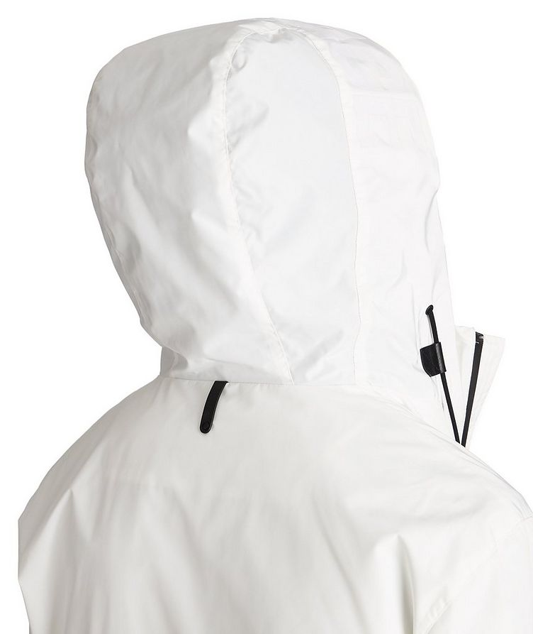 Water-Repellent Hooded Bomber Jacket image 4