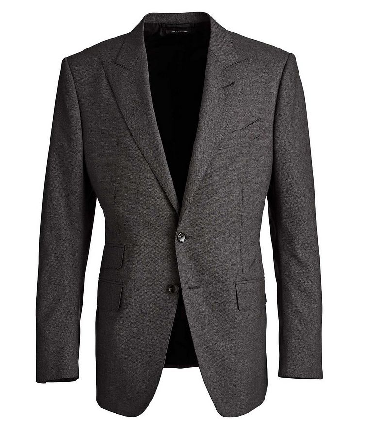 O'Connor Stretch Wool-Silk Suit image 0
