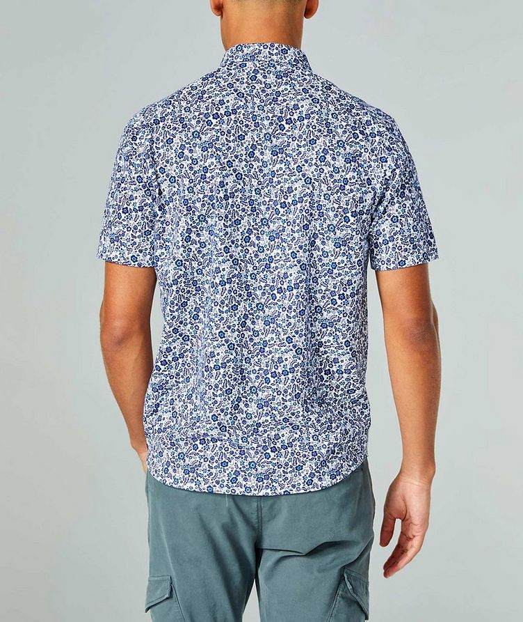 Short-Sleeve Botanical-Printed Shirt image 1