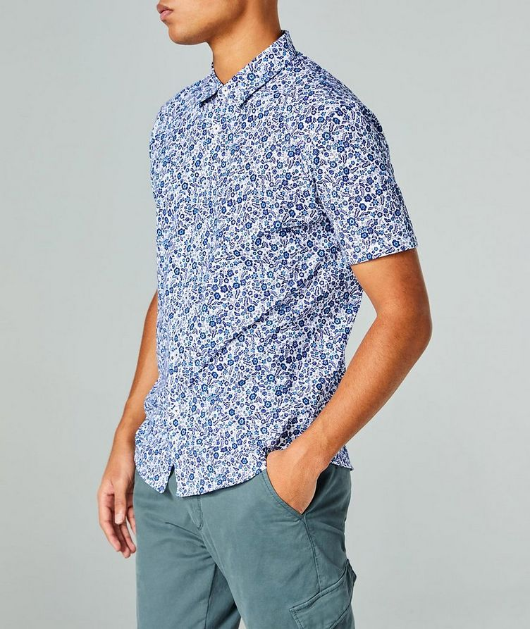 Short-Sleeve Botanical-Printed Shirt image 2