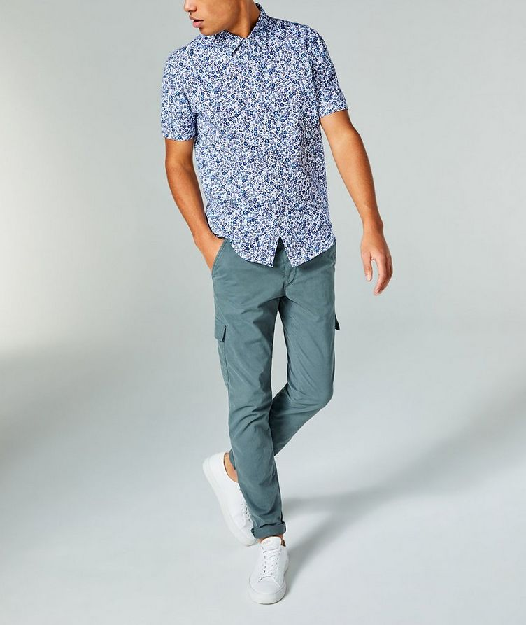 Short-Sleeve Botanical-Printed Shirt image 3