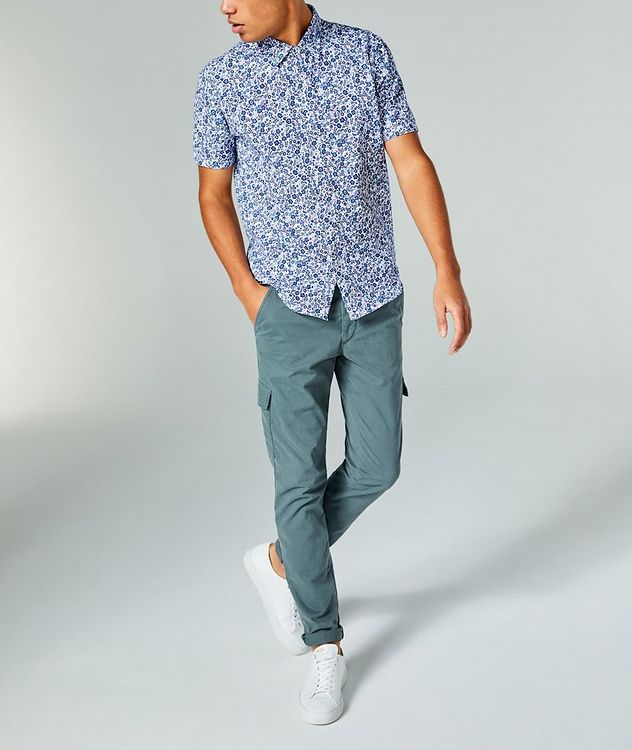Short-Sleeve Botanical-Printed Shirt picture 4