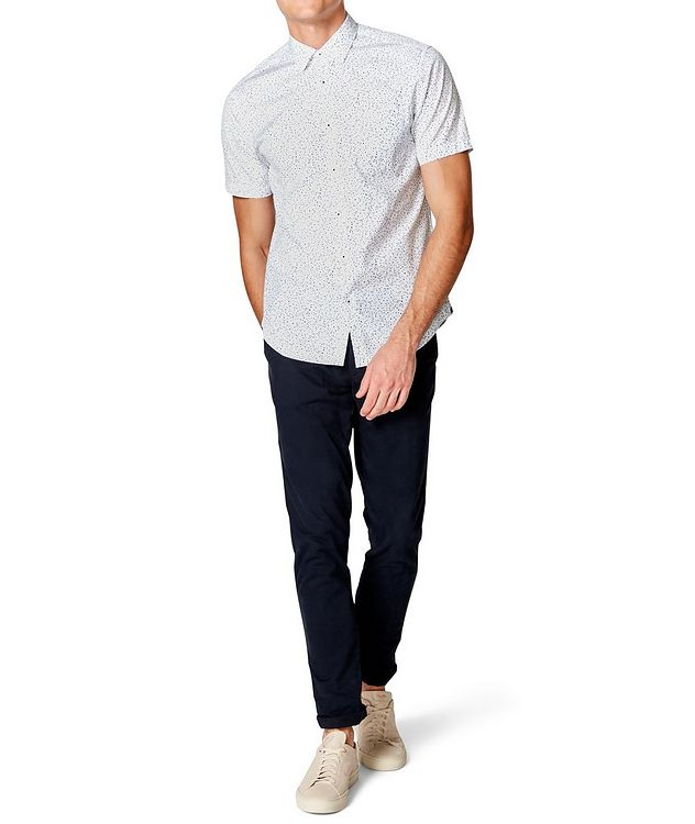 Short-Sleeve Dotted Shirt picture 4