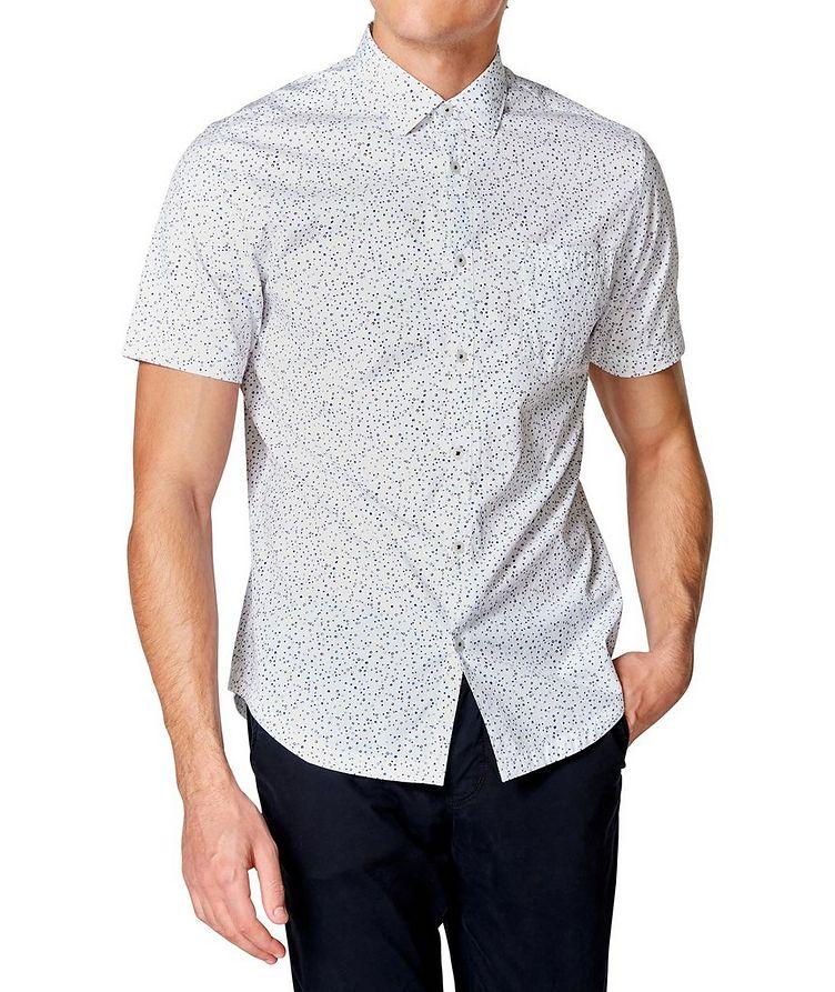 Short-Sleeve Dotted Shirt image 0