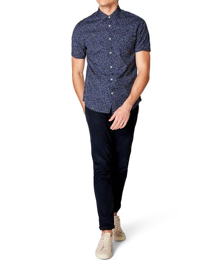 Short-Sleeve Dotted Shirt image 3