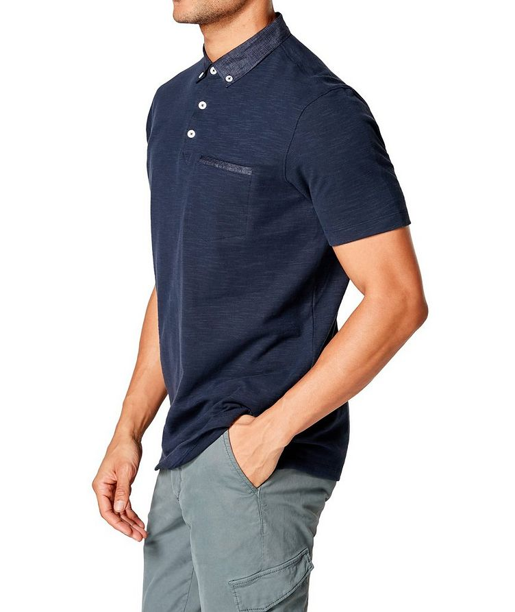 Slub Cotton-Jersey Polo image 2